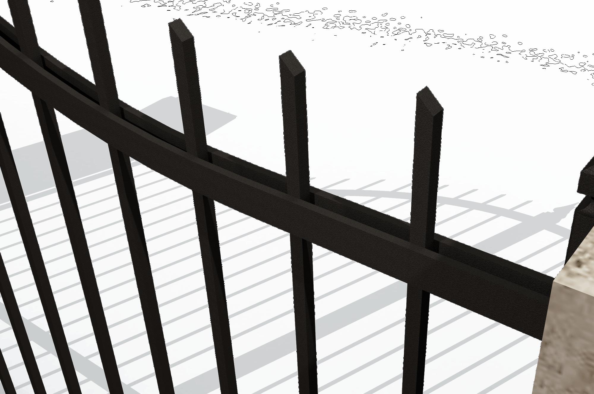 Cancello in ferro battuto 201